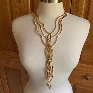 NEST JEWELRY - Twisted Arc Y-Necklace - Like New